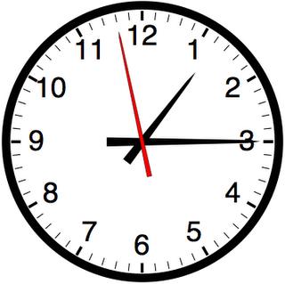 klocka för navigering