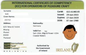 ICC plastkort