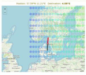 Idag är det 4° E i Göteborg